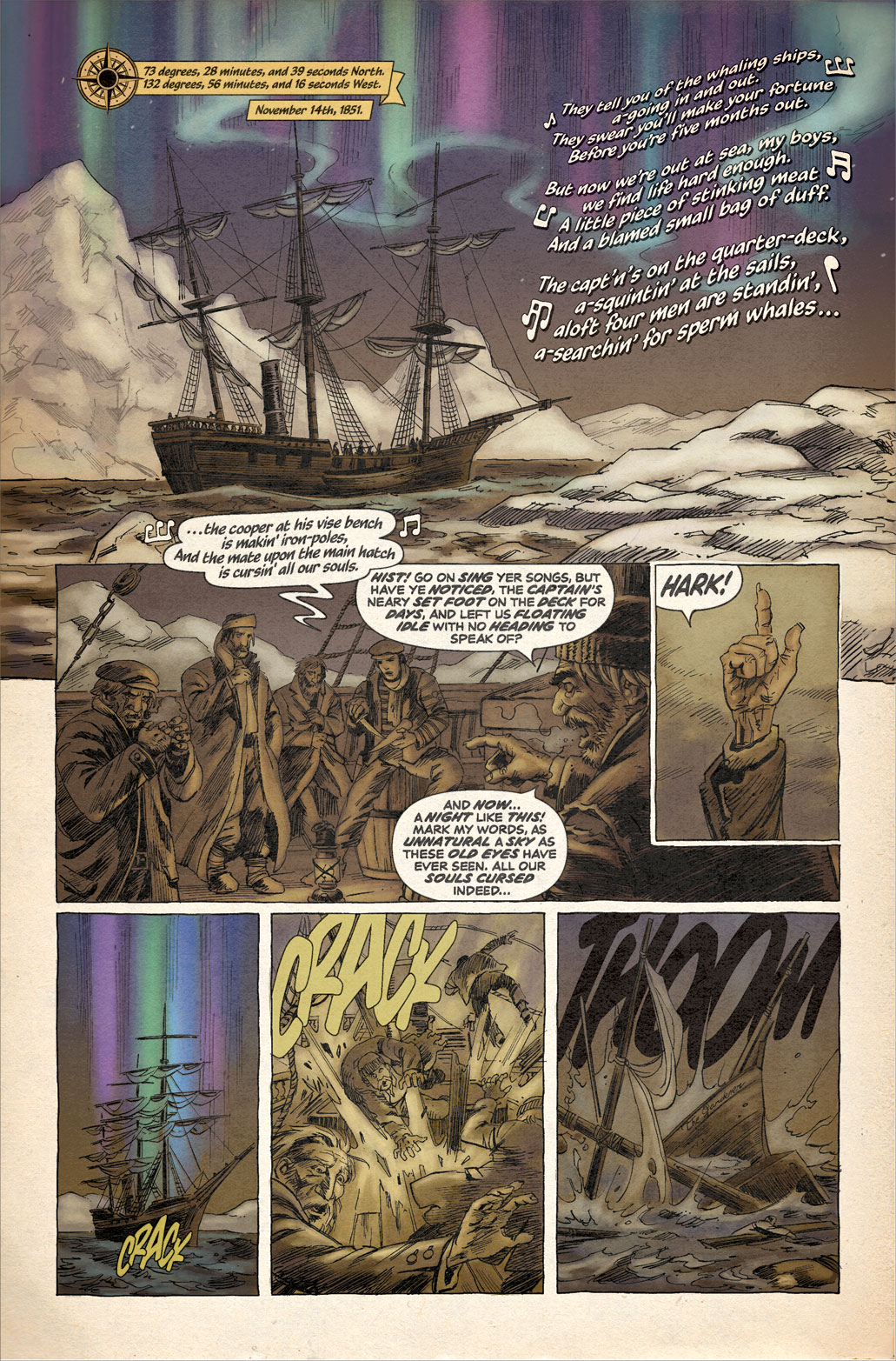 Secret of the Beaufort Sea – Page 1