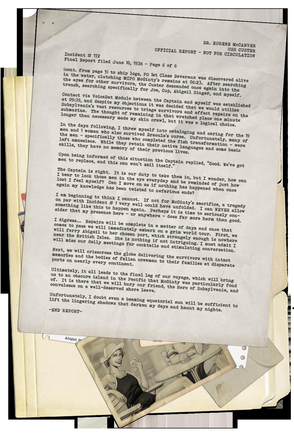 Pitch Black Day – Epilogue Page 1
