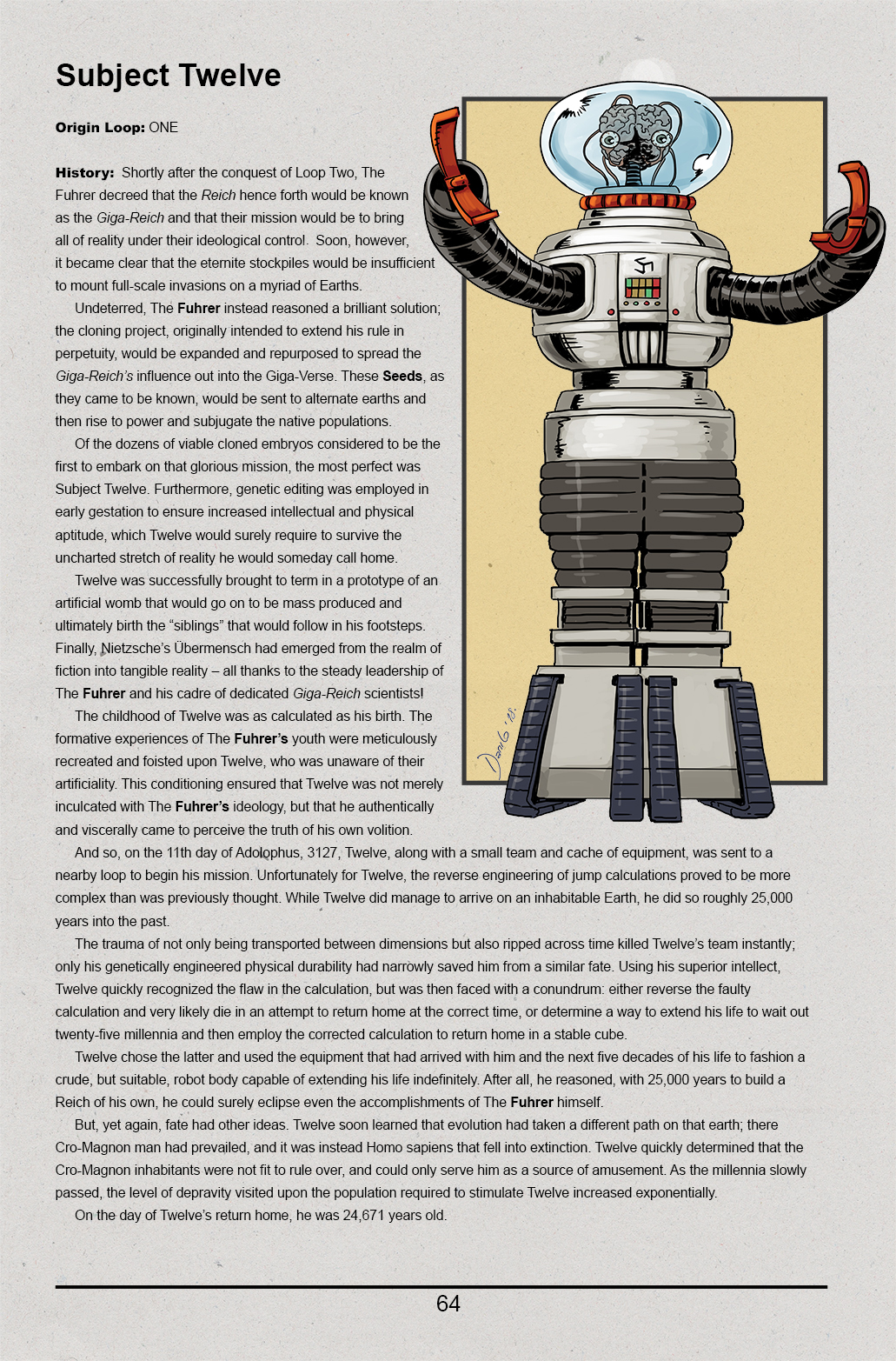 Giga-Reich Source Book  – Page 2